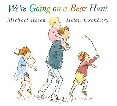 We're Going on a Bear Hunt By Michael Rosen New Paperback Bedtime Story Book