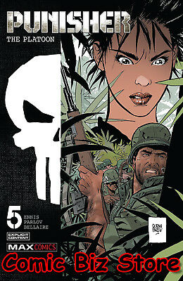 Punisher The Platoon #5 (Of 6) (2018) 1St Print Bagged & Boarded Marvel Comics