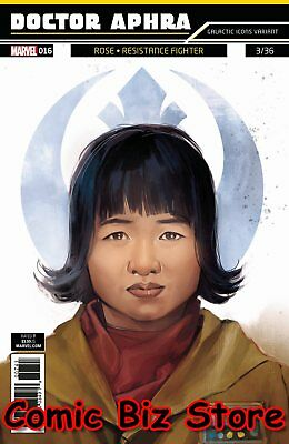 Star Wars Doctor Aphra #16 (2018) 1St Printing Reis Galactic Icon Variant Cover