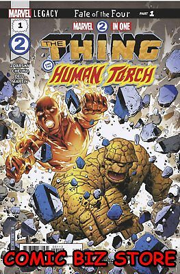 Marvel Two-In-One #1 (2017) 2Nd Print Cheung Var Human Torch & The Thing Marvel