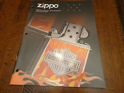 Harley Davidson Zippo Lighter Catalog 2005 Unused