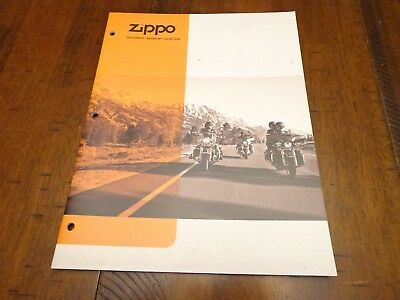 Harley Davidson Zippo Lighter Catalog 2014 Unused