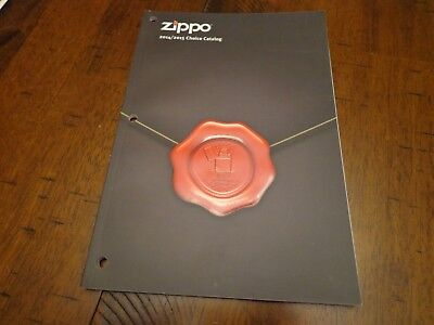 2014/2015 Choice Zippo Lighter Catalog Unused