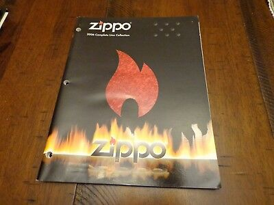 Full Size Zippo Lighter Catalog 2006 Unused