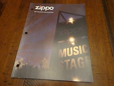Full Size Zippo Lighter Catalog 2009 Unused