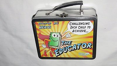 Metal Lunch Box - The Educator - National Heritage Academies