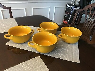 Stoneware Soup Side Bowls Sets Of 2 Chips Dip Convenient Heavy
