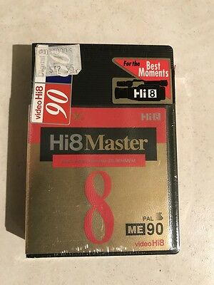 SONY Hi 8 ME 90 Master Video Cassette Tape New in Packet