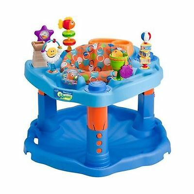 Evenflo ExerSaucer Activity Center, Mega Splash With Bright Colors And Many V...