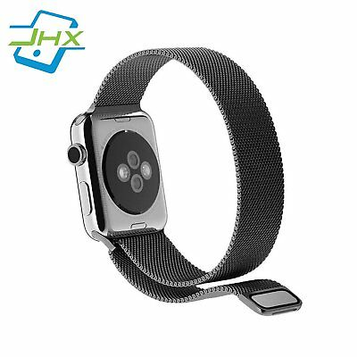 Apple Watch Band 38mm, JHX Strong Magnetic Milanese Loop Stainless Steel