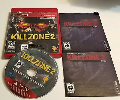 Killzone 2 (Sony PlayStation 3) CIB PS3 Complete Game Free And Fast Shipping