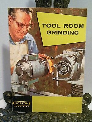 BOOK Tool Room Grinding How To Sharpening Steel Cast Alloy Cutters Carbide Tools