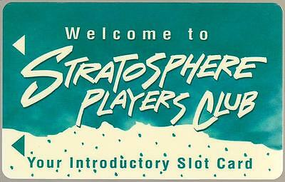 STRATOSPHERE TOWER casino* INTRODUCTORY BLANK ~ slot/players card*Free Shipping