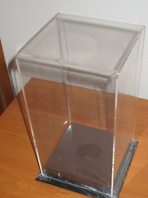 Display Case :  AFL football (NRL /Rugby) Small  Vertical perspex display case