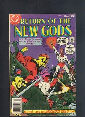 The New Gods #15 December 1977 DC The Apocalypse Child