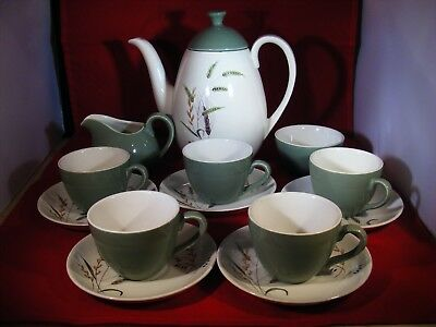 Rare Ridgway 'Canadiana' Coffee Set