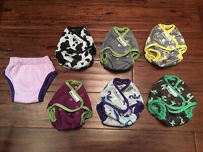 Complete Best Bottom / Planet Wise cloth diapering set up!