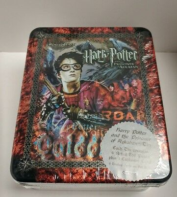"Harry Potter & the Prisoner of Azkaban Tin with trading cards ""Dementor"" - 4pk"