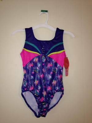 NWT Girls GYMNASTICS Leotard 4 5 6 6X 7 8 10 12 Sparkle Sleeveless Danskin