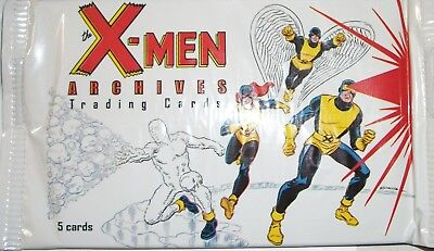 2009 Rittenhouse Archives/Marvel Comics X-men Archives sealed pack