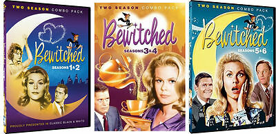 Bewitched TV Series Complete Season 1-6  DVD Set Show Episode Collection Lot Box