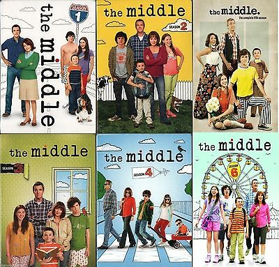 The Middle TV Series Complete Season 1 2 3 4 5 6 DVD Set TV Bundle Collection R1