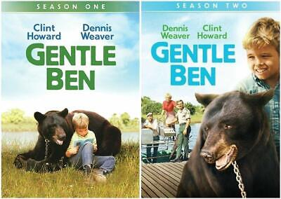 Gentle Ben Complete TV Series First Second Season 1 2 DVD Set Collection Show R1