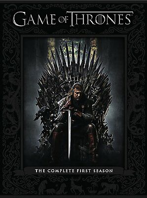Game of Thrones Complete First Season 1 One DVD Set Series TV Collection Box HBO