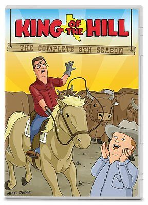 King of the Hill Complete 9th Ninth Season 9 Nine DVD Set Series TV Show Animate