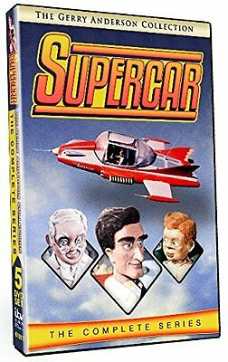 UPERCAR COMPLETE Series DVD Set First Second Season 1 2 Gerry Collection Episode