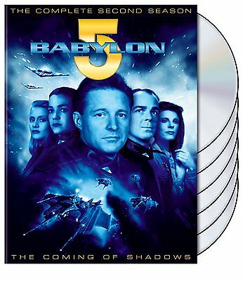Babylon 5 Complete 2nd Second Season 2 Two DVD SET Series TV Show Bruce Claudia