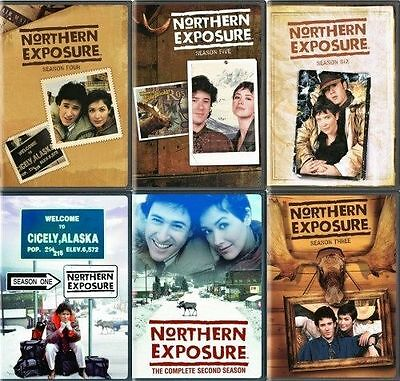 NORTHERN EXPOSURE COMPLETE SERIES DVD Set Seasons 1 2 3 4 5 6 Series Collection