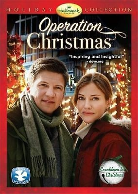 OPERATION CHRISTMAS DVD Hallmark Channel Holiday Collection Xmas romance Film TV