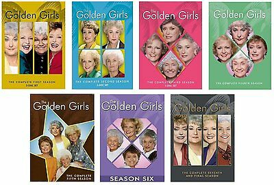 The Golden Girls Complete Series Collection Season 1 2 3 4 5 6 7 DVD Set Lot TV