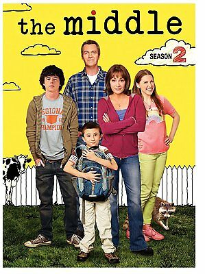 The Middle TV Series Complete 2nd Second Season 2 Two DVD Set Collection Show R1