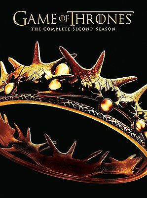 Game of Thrones HBO Complete Second Season 2 Two DVD Set Series TV Collection R1