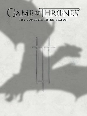 Game of Thrones Complete Third Season 3 Three DVD Set Series TV Collection HBO