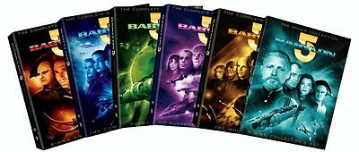 Babylon 5 Complete Collection TV Series Movie Season Episodes DVD TV Show Lot R1