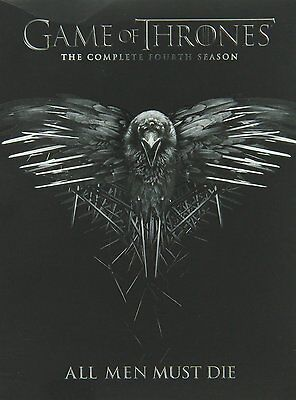 Game of Thrones Complete Fourth Season 4 Four DVD Set Series TV Collection HBO