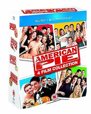 American Pie Blu Ray Set 1 2 3 Reunion Complete Movie Set Lot Tv Show Collection