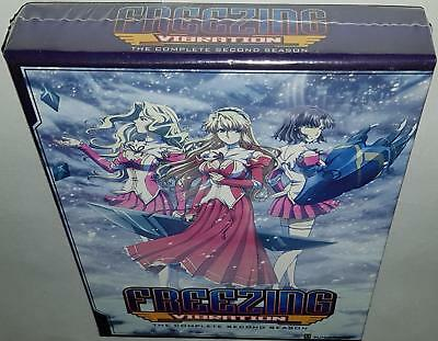 Freezing Vibration Complete Series Limited Edition Brand New Sealed Bluray & Dvd