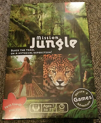 MISSION  JUNGLE - Bioviva Board Game (Sealed and unplayed)
