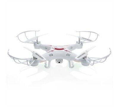 RC 6-Axis Quadcopter Flying Drone Toy With Gyro and Camera Remote Control LED Li