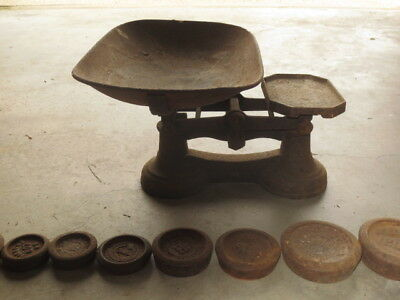 Antique Scales and Weights