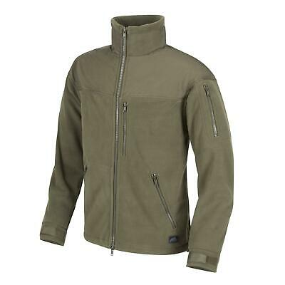 Helikon Tex Classic Army Fleece Jacket Olive Green Outdoor