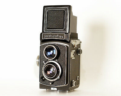 Yashicaflex 6x6 120 Film TLR Twin Lens Camera Medium Format - Excellent