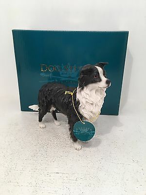 Border Collie Standing Dog Studies Leonardo Figurine Ornament *BRAND NEW BOXED*