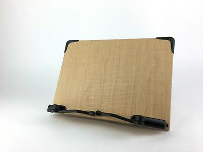 Wooden Book Stand Holder Adjustable Portable Read Bible Cook book Desk Bookstand