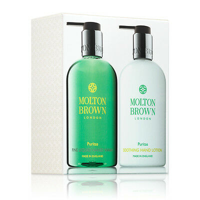 Molton Brown Puritas Hand Wash & Hand Lotion Set (2 x 300ml) - NEW