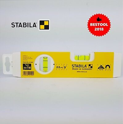 Stabila 02190 70Tm Torpedo Magnetic Level 220Mm Genuine